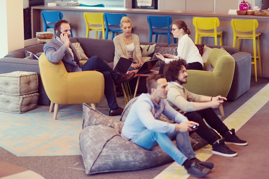 startup Office Workers