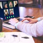 Virtual Meeting Keeping Employees Connected